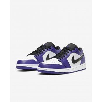 Nike Air Jordan 1 Low Court Purple Court Purple/White-Black ...