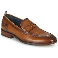Chaussures Homme Mocassins Azzaro NORDEN Cognac