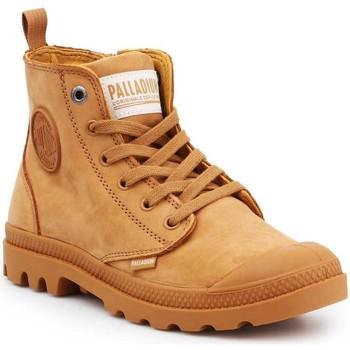 Chaussures Femme Baskets montantes Palladium Manufacture Pampa HI ZIP NBK 96440-717-M brązowy