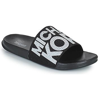 Chaussures Fille Claquettes MICHAEL Michael Kors JETT JAE Noir