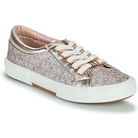 Chaussures Fille Baskets basses MICHAEL Michael Kors IMA TINSEL Rose Gold / Argenté