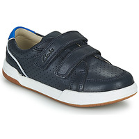 Chaussures Enfant Baskets basses Clarks FAWN SOLO K Marine