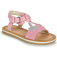 Chaussures Fille Sandales et Nu-pieds Clarks FINCH SUMMER K Rose