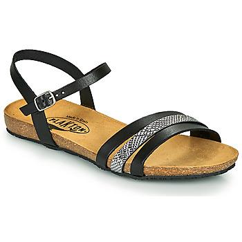 Chaussures Femme Sandales et Nu-pieds Plakton MAM ALOU Noir