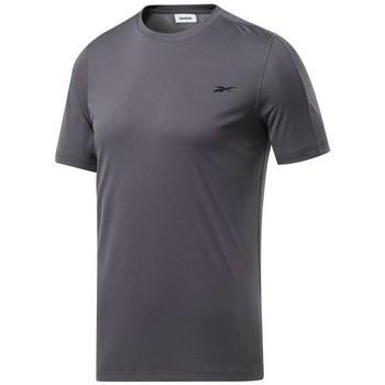Vêtements Homme T-shirts manches courtes Reebok Sport Wor Comm Tech Tee Graphite