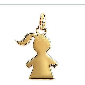 Montres & Bijoux Femme Pendentifs Brillaxis Pendentif  fillette dorée Jaune