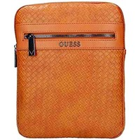 Sacs Homme Pochettes / Sacoches Guess Sacoche Homme New Milano Brun HM6651 Camel (rft) Brun
