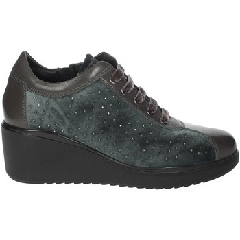Chaussures Femme Baskets basses Riposella IC-111 Gris