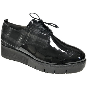 Chaussures Femme Derbies Softwaves Derbies 7.39.22 Noir