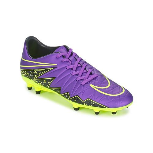 Chaussures de sport Nike HYPERVENOM PHELON II FG Violet 350x350