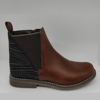 Chaussures Fille Bottes Bopy ITOMA LILYBELLULE Marron