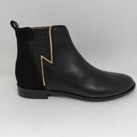Chaussures Fille Bottes Adolie ODEON FLASHY Noir