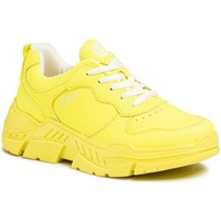 Chaussures Femme Baskets basses S.Oliver Chaussures plates jaune fluo Jaune