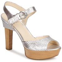Chaussures Femme Sandales et Nu-pieds Fabi KAITE Argent