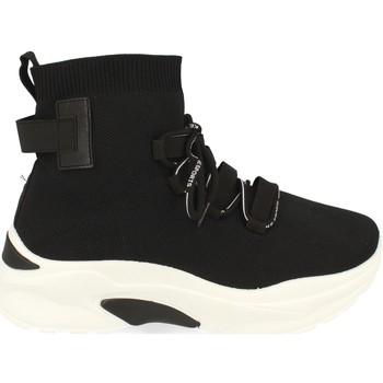 Chaussures Femme Baskets montantes Buonarotti 1AP-1022 Negro