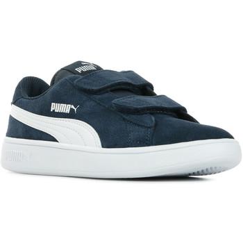 Chaussures Enfant Baskets basses Puma Smash V2 SD V PS bleu