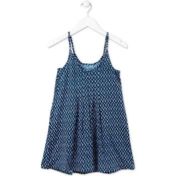 Vêtements Fille Robes courtes Losan 714 7017AB Bleu