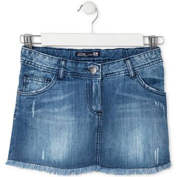 Vêtements Fille Jupes Losan 714 7024AB Bleu