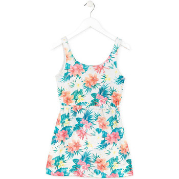 Vêtements Fille Robes courtes Losan 714 7041AB Blanc