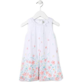 Vêtements Fille Robes courtes Losan 716 7784AD Blanc