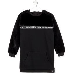 Vêtements Fille Robes courtes Losan 024-7006AL Noir