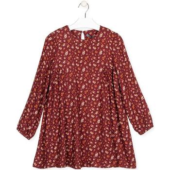 Vêtements Fille Robes courtes Losan 024-7016AL Rouge