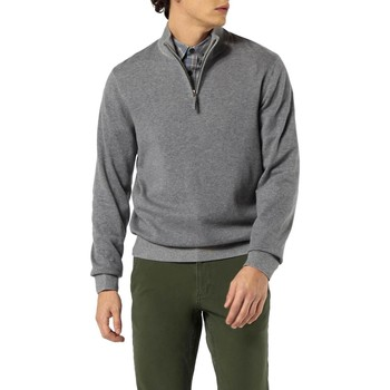 Vêtements Homme Pulls Dockers ALPHA PLAITED 1/4 ZIP B13 gris