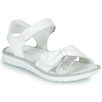 Chaussures Fille Sandales et Nu-pieds Primigi LOLA Blanc / Argenté