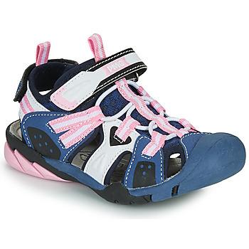 Chaussures Fille Sandales sport Primigi CAMMI Marine / Rose