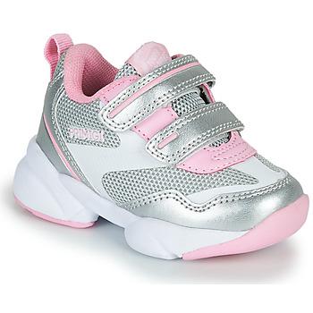 Chaussures Fille Baskets basses Primigi SUZZI Argenté / Rosé