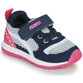 Chaussures Fille Baskets basses Primigi ELLA Marine / Rose