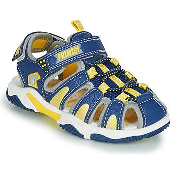 Chaussures Garçon Sandales sport Primigi ISMAEL Bleu / Jaune