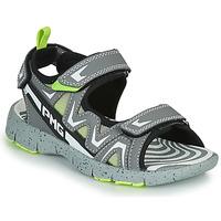 Chaussures Garçon Sandales et Nu-pieds Primigi MATEO Gris / Vert