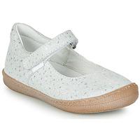 Chaussures Fille Ballerines / babies Primigi BIANCA Blanc irisé