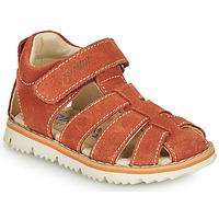 Chaussures Garçon Sandales et Nu-pieds Primigi KANNI Marron