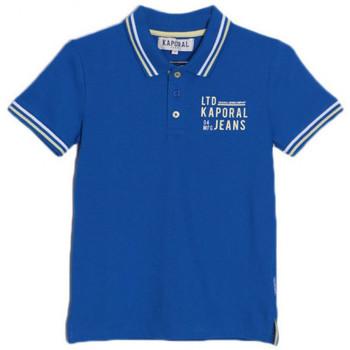 Vêtements Enfant T-shirts & Polos Kaporal Polo Garçon Arick Bleu Bleu