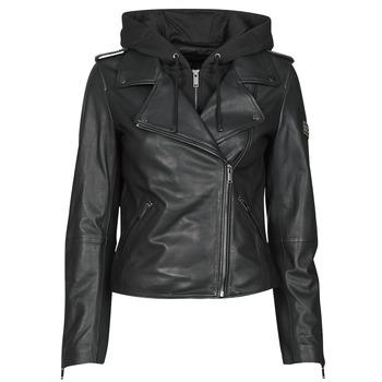 Vêtements Femme Vestes en cuir / synthétiques Ikks BS48015-02 Noir
