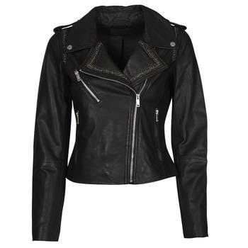 Vêtements Femme Vestes en cuir / synthétiques Ikks TECHNOL Noir