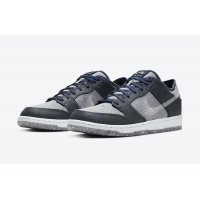 Chaussures Baskets basses Nike SB Dunk Low Crater Dark Grey/White-Dark Grey