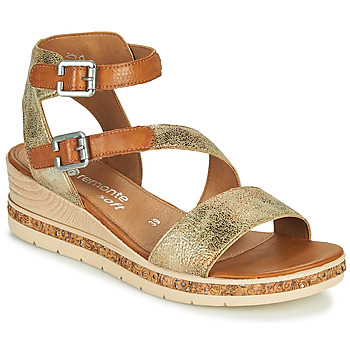 Chaussures Femme Sandales et Nu-pieds Remonte Dorndorf BALANCE Doré / Marron