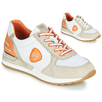 Chaussures Femme Baskets basses Remonte Dorndorf POLLUX Blanc / Gris / Orange