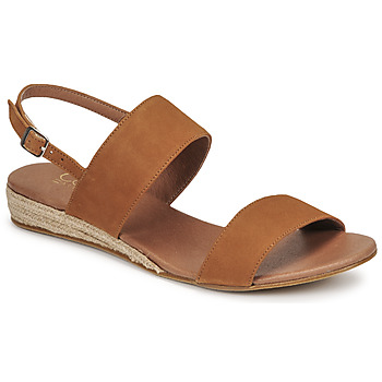 Chaussures Femme Sandales et Nu-pieds Casual Attitude OLIVE Camel