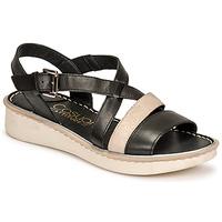 Chaussures Femme Sandales et Nu-pieds Casual Attitude ODETTE Noir / doré
