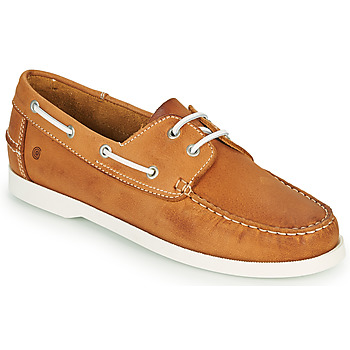 Chaussures Homme Chaussures bateau Casual Attitude REVORO Camel