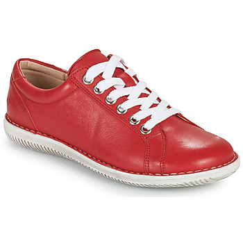 Chaussures Femme Derbies Casual Attitude OULETTE Rouge