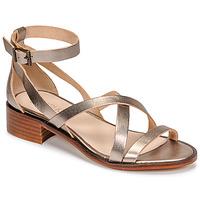 Chaussures Femme Sandales et Nu-pieds Casual Attitude COUTIL Bronze