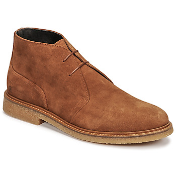 Chaussures Homme Boots Casual Attitude NETOINE Marron