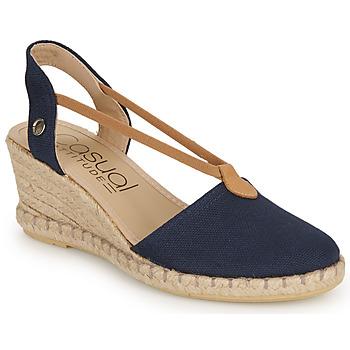 Chaussures Femme Sandales et Nu-pieds Casual Attitude IPOP Marine