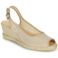 Chaussures Femme Sandales et Nu-pieds Casual Attitude MADELEINE Doré