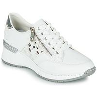 Chaussures Femme Baskets basses Rieker GRAMI Blanc